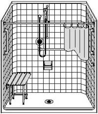 shower diagram